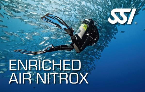 Spécialité Enriched Air Nitrox de l'École de plongée Lanaudière