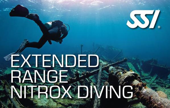 Spécialité Extended Range Nitrox Diving de l'École de plongée Lanaudière