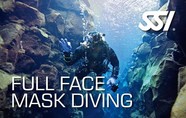 Spécialité Full Face Mask Diving de l'École de plongée Lanaudière