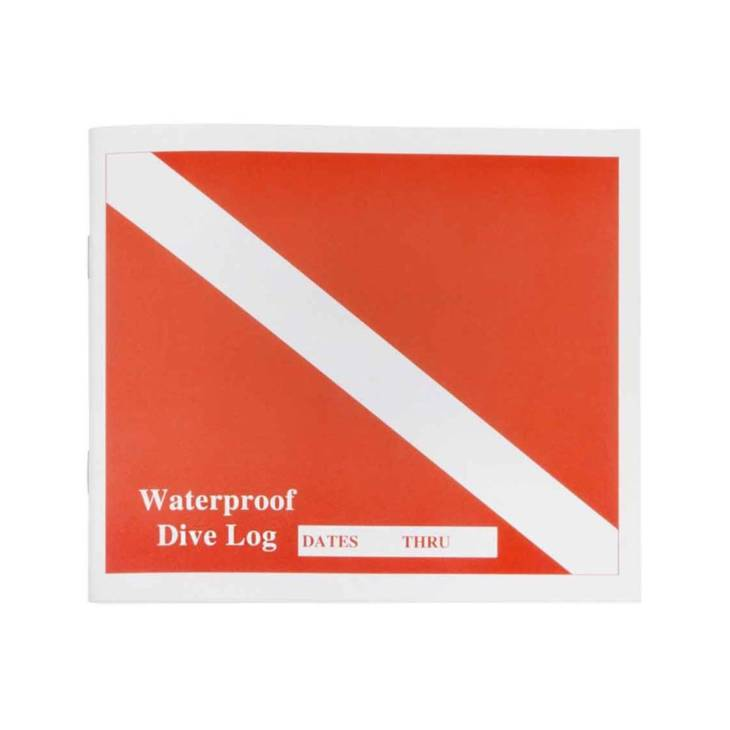 Journal de plongée étanche (Waterproof Dive Log)